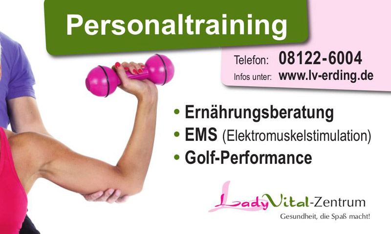 Flyer Personaltraining