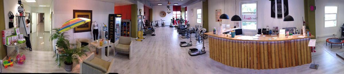 Empfangsbereich unseres Studios | Trainieren und wohlfühlen