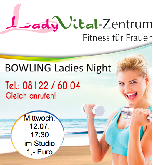 Bowling Ladies Night Lady Vital Erding