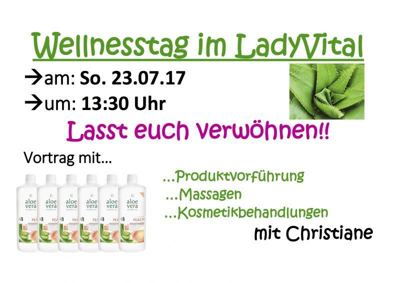 Wellnesstag Im Lady Vital