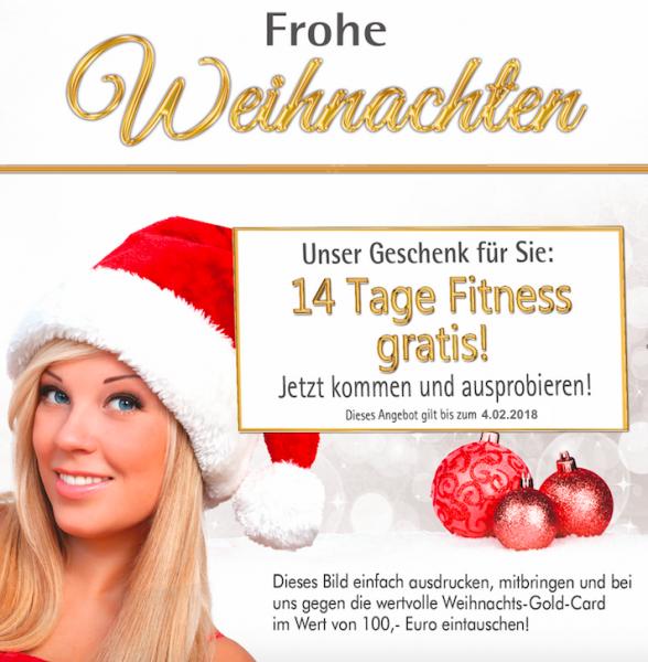 Weihnachtsgeschenk Fitness Und Gesundheit