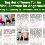 Zeitungsartikel Zum Tag Der Offenen Tür Im Lady Vital 2.0
