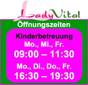 Kinderbetreuung im Lady Vital-Zentrum Erding