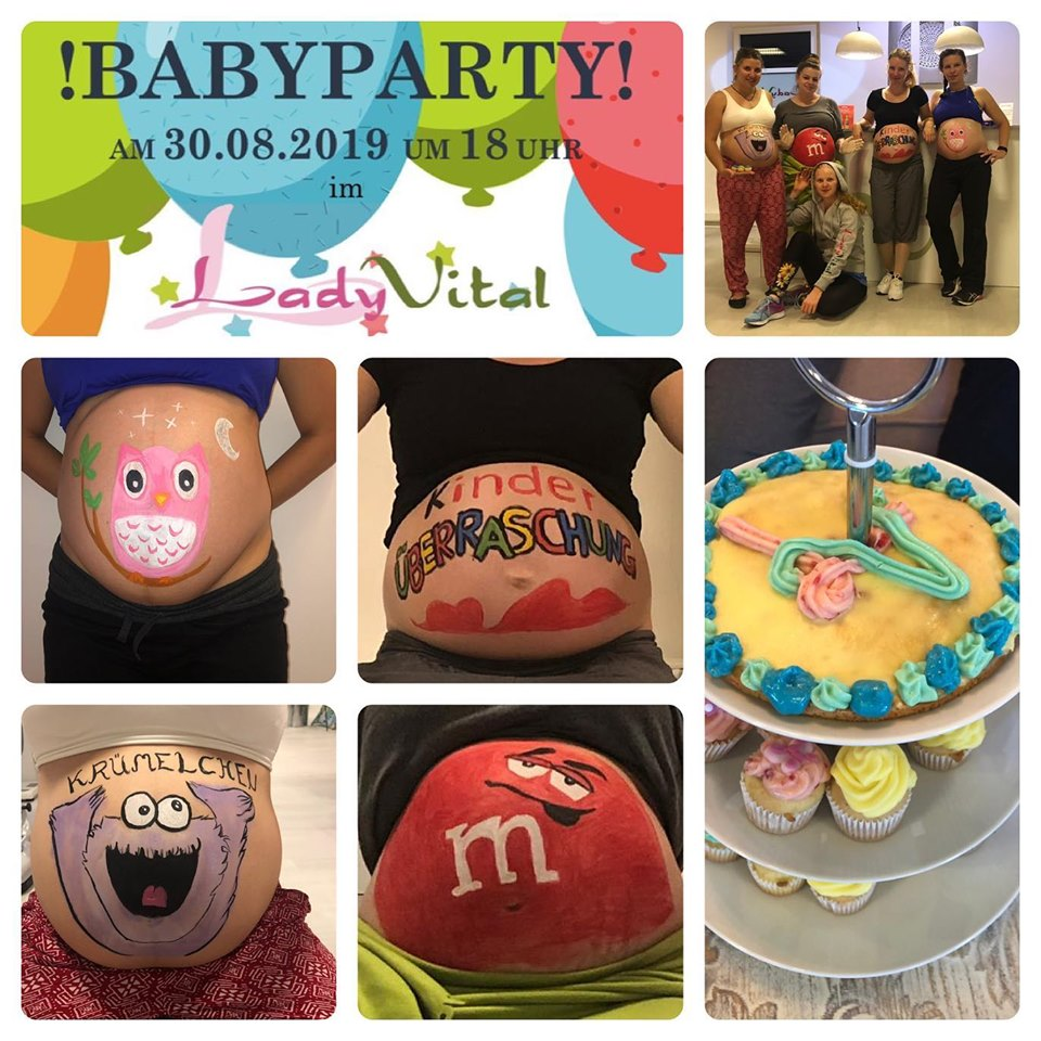 Lady Vital Babyparty Erding